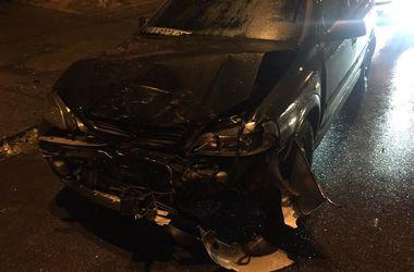 В Киеве пьяный водитель устроил ДТП и гонки с полицией