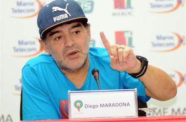 Диего Марадона хочет возглавить сборную Марокко