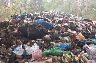 В Ровенской области снова нашли львовский мусор