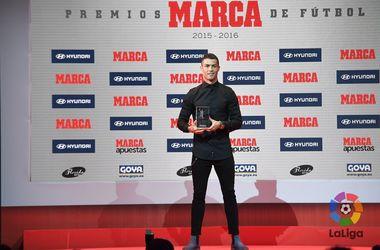 Роналду признан лучшим игроком чемпионата Испании прошлого сезона, Симеоне - лучшим тренером