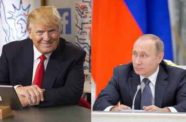 Путин поздравил Трампа с победой на выборах в США