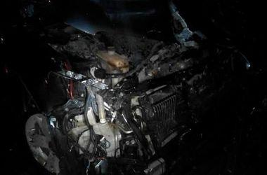 Во Львове маршрутка столкнулась с внедорожником: трое пострадавших