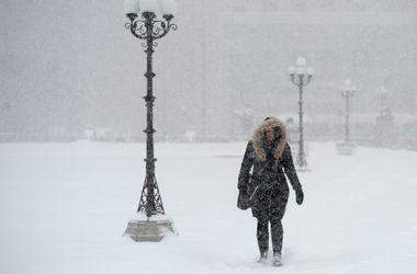В конце недели в Украину придет настоящая зима