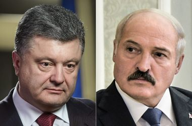 Порошенко созвонился с Лукашенко