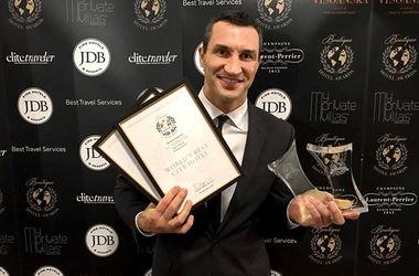 Владимир Кличко получил награды за свой отель в Киеве