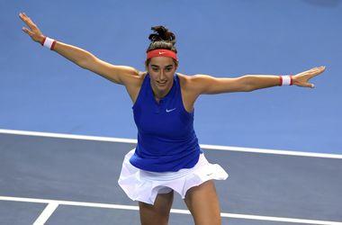 Француженка Каролин Гарсия сравняла счет в финале Кубка Федераций