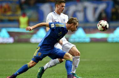 Обзор матча Украина - Финляндия - 1:0