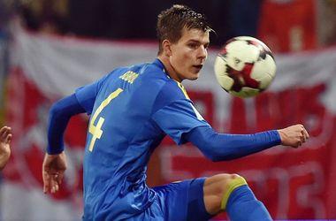 Эдуард Соболь пропустит матч сборной Украины против Хорватии в отборе на ЧМ-2018
