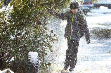 В Ивано-Франковской области из-за снегопада отменили занятия в школах