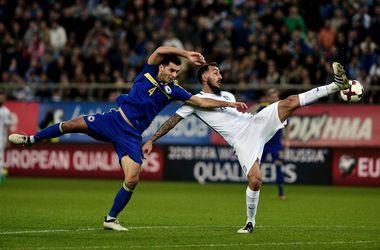 Греки вырвали ничью в матче с Боснией в отборе на ЧМ-2018