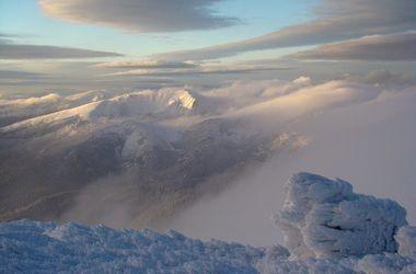 Зима на Прикарпатье: живописные пейзажи и страшная находка в снегу