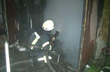 В Харькове во время пожара погиб хозяин дома