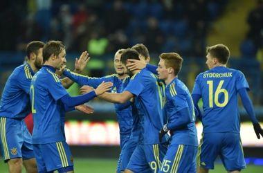 Украина - Сербия - 2:0, обзор матча