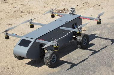 Американцы показали летающий дрон-внедорожник