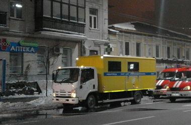 В центре Киева неизвестные подожгли старинный дом