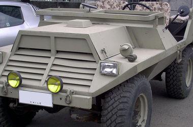Как выглядит самый странный военный джип