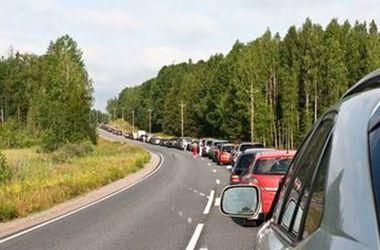На границе с Польшей в очередях стоят более 900 автомобилей