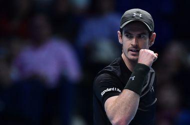 Энди Маррей стал первым финалистом итогового чемпионата теннисистов