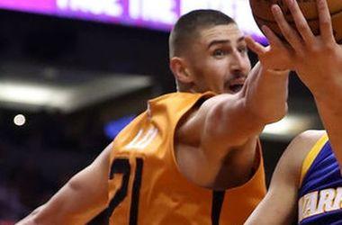 Украинцы в НБА сыграли в ночь на воскресенье