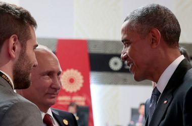 Обама и Путин сожалеют, что нет прогресса по Украине