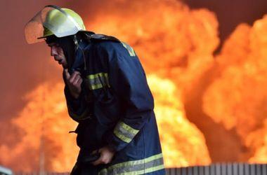 В Харькове горела многоэтажка