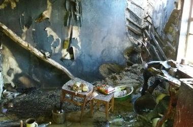 В Харьковской области пожар убил двух человек