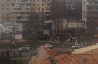 В Одессе возле ледового катка произошла массовая драка со стрельбой