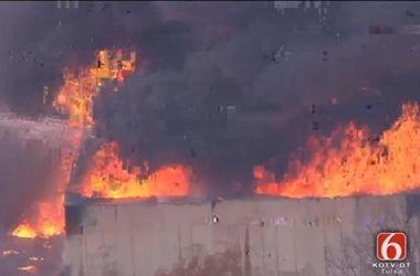 На химическом заводе в США произошел взрыв