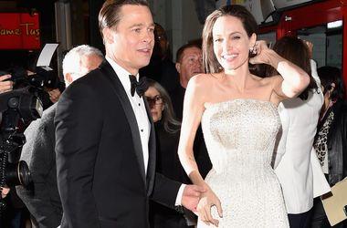 Анджелина Джоли и Брэд Питт объявили временное перемирие