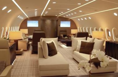 Как выглядит самый роскошный авиалайнер в мире