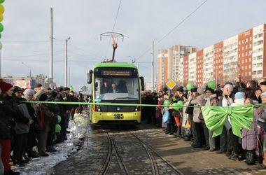 В день открытия трамвая, которого льввяне ждали десятки лет. Фото: 24tv.ua