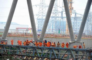 В Китае число жертв обрушения на электростанции достигло 74 человек