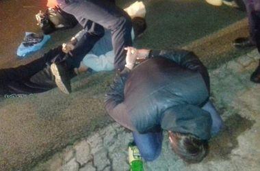 В Днепре полицейские гнались за вооруженным водителем-хамом