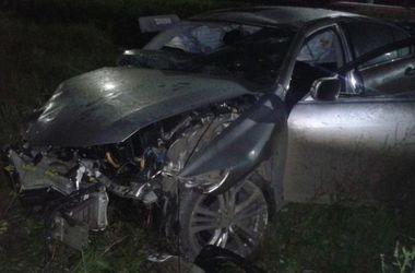 Пьяное ДТП на трассе Киев-Чоп: иранские студенты разнесли Lexus