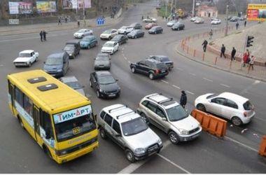 В Одессе произошел транспортный коллапс