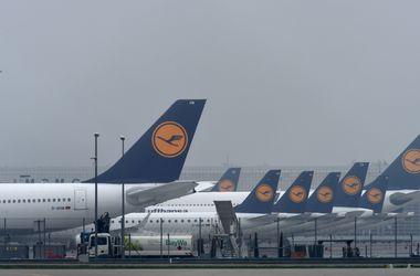 Lufthansa отменила 137 рейсов из-за забастовки пилотов