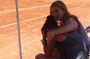 Отец чилийской теннисистки умер во время ее финального матча