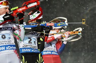 Украина заняла 10-е место в первой гонке сезона на Кубке мира по биатлону