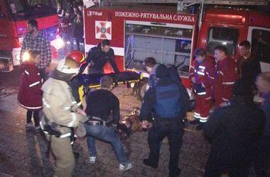 Первая жертва пожара в ночном клубе Львова: умер 48-летний мужчина