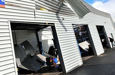 По американскому штату Алабама пронесся разрушительный торнадо