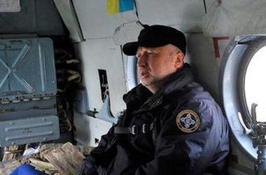 Турчинов: Несмотря на угрозы России, Украина продолжит ракетные испытания в пределах своей территории
