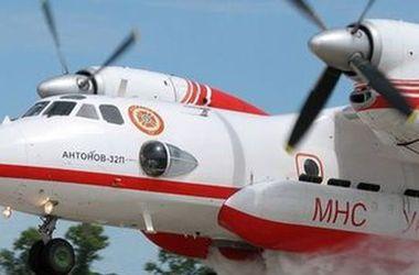 В Киев из Израиля вернулись пожарные самолеты
