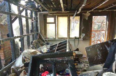 Жуткий пожар в Виннице оставил без жилья 10 человек