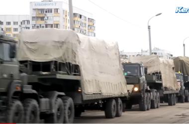 La russie prépare la rotation des troupes à la frontière de la Crimée