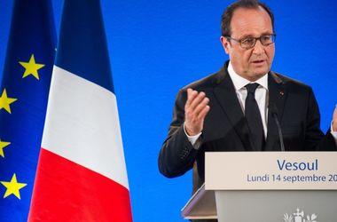 Олланд отказался участвовать в выборах президента Франции
