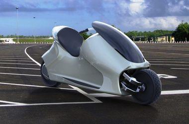 Jak vypadá svět je první motocykl, který neklesá