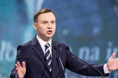 Накануне встречи с Порошенко Дуда сделал заявление об украинско-польских отношениях