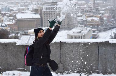В Украину идут похолодание и снегопады: прогноз погоды