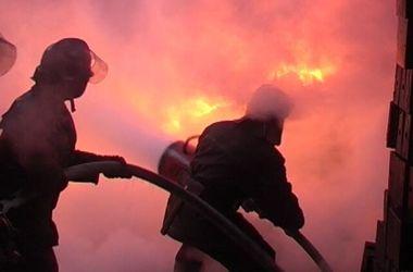 В Киеве дотла сгорела квартира