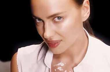 In underwear and unbuttoned shirt: Irina Shayk appeared in a sexy video